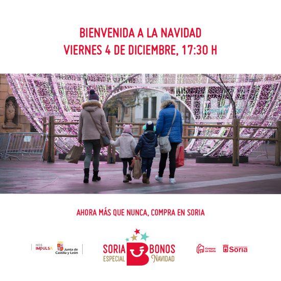 La Navidad llegará a Soria este viernes en distintos espacios y con reserva anticipada de entradas para evitar aglomeraciones